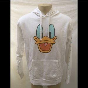 NWT Neff x Disney Size L Donald Duck Face Hoodie